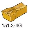 Sandvik Coromant N151.3-A156-40-4G   1145 Carbide Q-Cut Grooving Insert, N151.3, Pack of 10