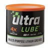 Ultralube 10302 Grease, Lithium, Tub, 16 Oz, Amber