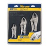 Irwin Vise-Grip 4935580 Locking Pliers Set, Curved