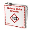 Ghs Safety GHS1008 SDS Binder With A-Z Dividers