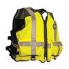 Mustang Survival MV1254 T3 2XL/3XL Mesh Life Vest, Yellow/Green, 2XL/3XL