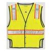 Ml Kishigo T341-4X-5X Fall Protection Vest, 4XL/5XL, Lime