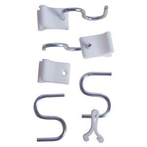 Suspend-It Ceiling Hooks, Light Duty, 2-1/4 In, Pk 4 at Sears.com