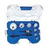 Lenox 302901100CTG MRO Hole Saw Kit, 1-3/4 In, 15 Pcs