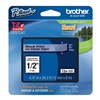 Brother TZe131 Label Tape, Black/Clear, 26-1/5 ft. L