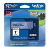 Brother TZe151 Label Tape, 26-1/5 ft. L, Black/Clear