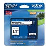 Brother TZe231 Label Tape, 26-1/5 ft. L, Black/White