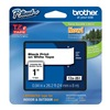 Brother TZe251 Label Tape, 26-1/5 ft. L, Black/White