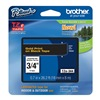 Brother TZe344 Label Tape, Black/Gold, 26-1/5 ft. L