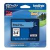 Brother TZe541 Label Tape, Black/Blue, 26-1/5 ft. L