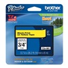 Brother TZe641 Label Tape, Black/Yellow, 26-1/5 ft. L