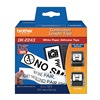 Brother DK2243 Label Tape, Black/White, Paper