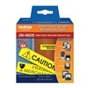 Brother DK4605 Removable Label, Black/Yellow, Paper