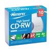 Memorex MEM03417 CD-RW Disc, 700 MB, 80 min, 12x, PK 10