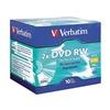 Verbatim VER94918 DVD-RW Disc, 4.70 GB, 120 min, 2x, PK 10