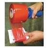 Goodwrappers PRT-80-3 Hand Stretch Wrap, Red, 1000 ft.L, 3InW, PK4