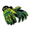 HexArmor 4020X 7/S Cut Resistant Gloves, Yellow/Green, S, PR