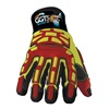 HexArmor 4031-8 Cut Resistant Gloves, Orange/Gray, M, PR