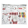Proto J99662 SAEFacility Maintenance Tool Set Number of Pieces: 148