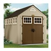 Suncast BMS8000 Outdoor Storage Shed, 8x7x10, Sand