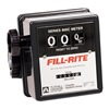 Fill-Rite 807CMK Pump Flow Meter, 3-Wheel, 3/4 In, 5-20 gal.
