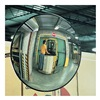 See All Industries PLX18 Indoor Convex Mirror, 18 Dia, Acrylic
