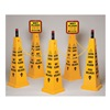 Tough Guy 6VKT1 TRFC Cone Kit, Wet Floor, Yellow