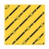 Brady 8AG44 Drain Cover, Yellow, 24 In W x 24 In L