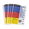Brady 99193 HMIG Label, Self-Adhesive Paper, PK 100