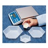 Eagle Thermoplastic HWB-475 Weighing Dish, 7/8 In. D, PK 500