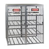 Folding Guard SAF-T-16 Gas Cylinder Cabinet, Capacity 16