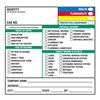 Brady 60330 Secondary Label, 5 In. H, 5 In. W, PK 100