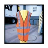 Occunomix LUX SSFULLG LRG-YLW Safety Vest, Yellow, Large