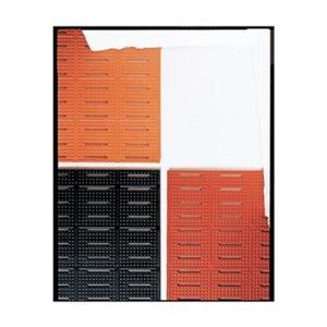 NoTrax Anti-Slip Mat, Rubber, Red, 3 ft x 60 ft