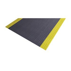 NoTrax Anti-Fatigue Mat, PVC, Blk/Ylw, 2-1/4 x5 ft at Sears.com