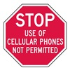Lyle ST-032-12HA Cellular Phones Not Permitted, 12x12In