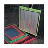 Baw Plastics SEWNHDR 12X15FLRED Shop Env, 15 x 12 In, Fluor R, Plstc, PK50