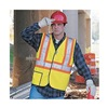 Occunomix LUX SSGT2 YL High Visibility Vest, Class 2, L, Yellow