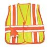 Ml Kishigo 1166/M-XL Hi Vis Vest, Class 2, M to XL, Lime