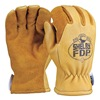 Shelby 5282G L Firefighters Gloves, L, Lthr, PR