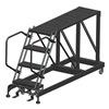 Ballymore SNR4-2460 Roll Work Platform, Steel, Single, 40 In.H