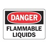 Accuform MCHD09BVA Danger Sign, 7 x 10In, R and BK/WHT, AL, ENG