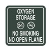 Intersign 62199-8 DELAWARE No Smoking Sign, 5-1/2 x 5-1/2In, ENG, SURF