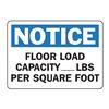 Accuform MCAP804VA Notice Sign, 10 x 14In, BL and BK/WHT, AL