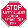 Lyle ST-029-12HA Stop Sign, 12 x 12In, WHT/R, AL, ENG, Text