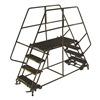 Ballymore DEP7-3648 Rolling Work Platform, Steel, Dual, 70 In.H