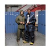 Helly Hansen 70148-590-S Rain Jacket with Hood, Navy, S