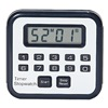 Control Company 8002 Count-Up/Down Timer, Black