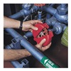 Honeywell VS04R Valve Lokout, Red, Dia 3/8 In.