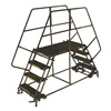 Ballymore DEP7-3636 Rolling Work Platform, Steel, Dual, 70 In.H